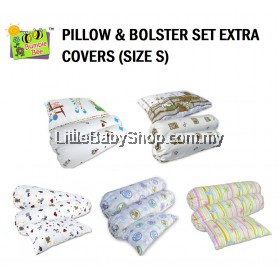 BUMBLE BEE Pillow & Bolster Set Extra Covers (Size S)