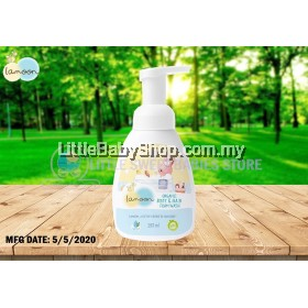 LAMOON Organic Body & Hair Foam Wash 250ml (Exp: 05/22)