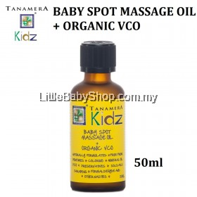 TANAMERA Kidz Baby Spot Massage Oil with Organic VCO 50ml