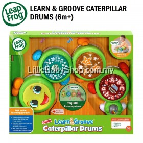 LEAPFROG Learn & Groove Caterpillar Drums (6m+)