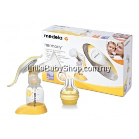 Medela Harmony Manual Breast Pump c/w Calma