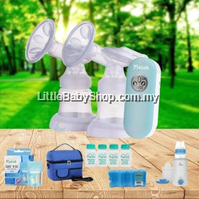 MALISH Dolce Double Electric Breast Pump (2 Year Warranty) - Pump Only/Package