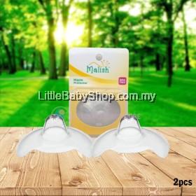 MALISH Soft Silicone Nipple Shield / Nipple Protector 2pcs with Case (25mm)