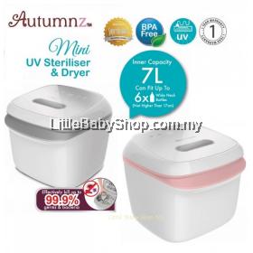 Autummnz Mini UV Steriliser & Dryer (Pink/Grey)