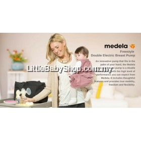 MEDELA Freestyle Double Electric Breast Pump - Genuine (1 year warranty)