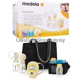 MEDELA Freestyle Double Electric Breast Pump - Genuine (1 year warranty)