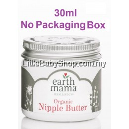 Earth Mama Organics Natural Nipple Butter (30ml) (Exp: Jul 2023)