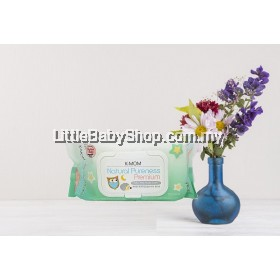 [PROMOTION] K-MOM Natural Pureness Premium Baby Wet Wipes Embo 100sheets
