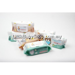 K-MOM : Naturefree Organic Premium Baby Wet Wipes 100pcs ( 5 Packs )