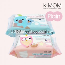 K-MOM: Organic Basic Wet Tissue Natural Pureness ( 100 sheets )