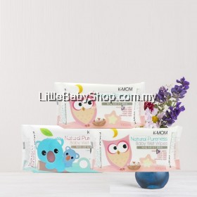 [PROMOTION] K-MOM Natural Pureness Basic Wet Wipes ( 100 sheets x 3 Packs ) (Exp Date: 27/6/2021)