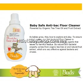 BUDS Baby Safe Anti-bac Floor Cleaner 600ml