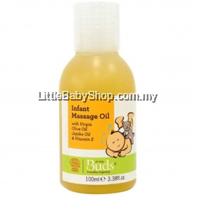 BUDS BEO Infant Massage Oil 100ml (Exp: Sept 2023)