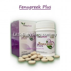 NEW!! AmazeHerb Fenugreek  Plus (60 Tablets)