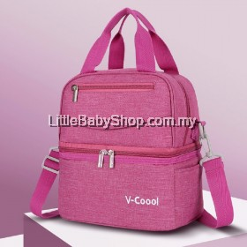 V-Coool Simplicity Cooler Bag - Carmine