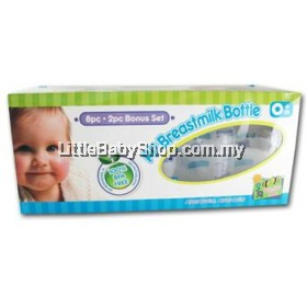 Bumble Bee Breastmilk Storage Bottles 10 btls