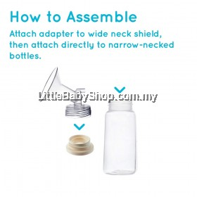SPECTRA Bottle Small Cap Converter / Adapter From Wide Neck To Standard Neck (1pc)