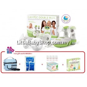 ARDO Calypso Double Electric Breast Pump Combo Package [Made in Switzerland]