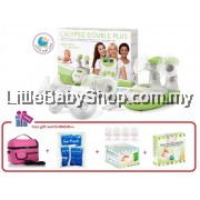 ARDO Calypso Double Plus Electric Breast Pump Combo Package [Made in Switzerland]