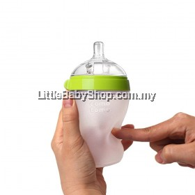 Comotomo Natural Feel Baby Bottle 250ML green