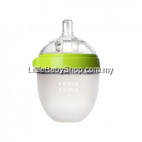 [GENUINE] Comotomo Natural Feel Baby Bottle 150ML Green