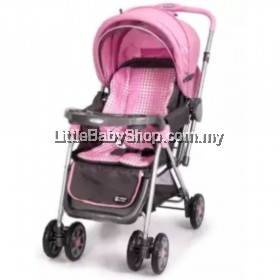 My Dear Baby Stroller 18036 Pink (Newborn - 18kg)