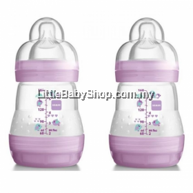 MAM Anti-Colic Bottle 160ml - Double Pack