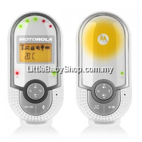 MOTOROLA DIGITAL AUDIO BABY MONITOR MBP16