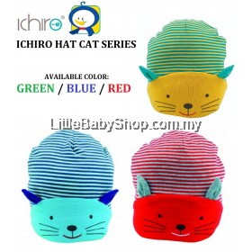 ICHIRO Hat Cat Series (Green/Blue/Red)