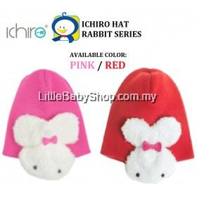ICHIRO Hat Rabbit Series (Red/Pink)