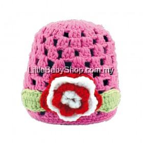 ICHIRO Head Gear Crochet Flower Series (Pink)