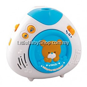 VTech Baby Lullaby Bear Crib Projector (Blue)