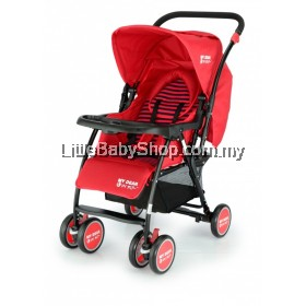 My Dear Baby Stroller 18038 -Red (Newborn - 18kg)