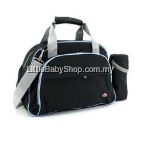 Bubbles Ashley Diaper Sling Bag Black