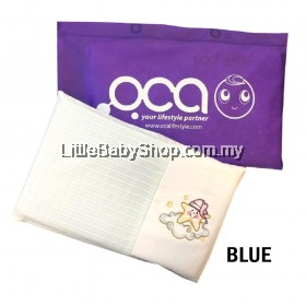Oca Baby Water Pillow - Blue (35cm x 20cm)