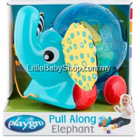PLAYGRO Pull Along Elephant (12m+)