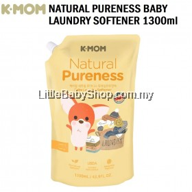 K-Mom Natural Pureness Baby Fabric Softener (1300ml) - NEW PACKAGING
