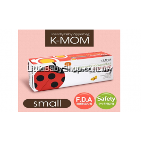 K-Mom Anti-Bacteria Zipper Bag 15pcs (Small)