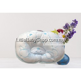 BABYLOVE Newborn Bear Pillow Hole (Dimple) - Blue