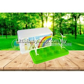 SIMPLE DIMPLE Milk Bottle & Accessories Drying Rack With Cover