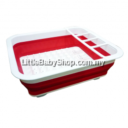 Simple Dimple Collapsible Tray (Red)
