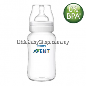 Philips Avent Bottle Classic+ PP 330ML/11OZ - SINGLE PACK