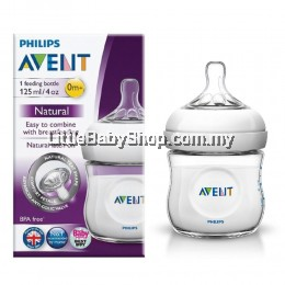 PHILIPS AVENT Natural Bottle 125ml/4oz (0m+) - Single Pack