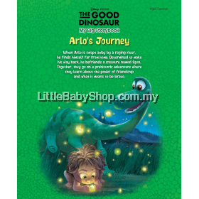 Disney Pixar The Good Dinosaur: My Big Storybook Arlo's Journey