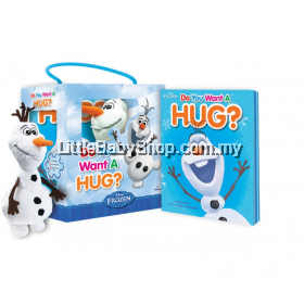 Disney Frozen: Do You Want A Hug Storybook with Olaf Plush Toy Box Set