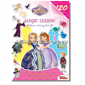 Sofia the First Magic Lesson Sticker Activity Book