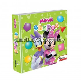 Disney Junior Padded Board Book Shapes (Disney Minnie)