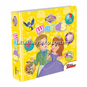 Disney Junior Padded Board Book Sofia The First: Words