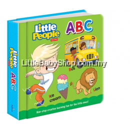Fisher Price Padded Board Book: ABC