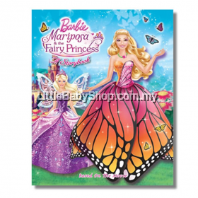 Barbie Mariposa and the Fairy Princess-A Sticker Storybook